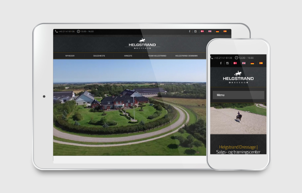 Helgstrand Dressage website